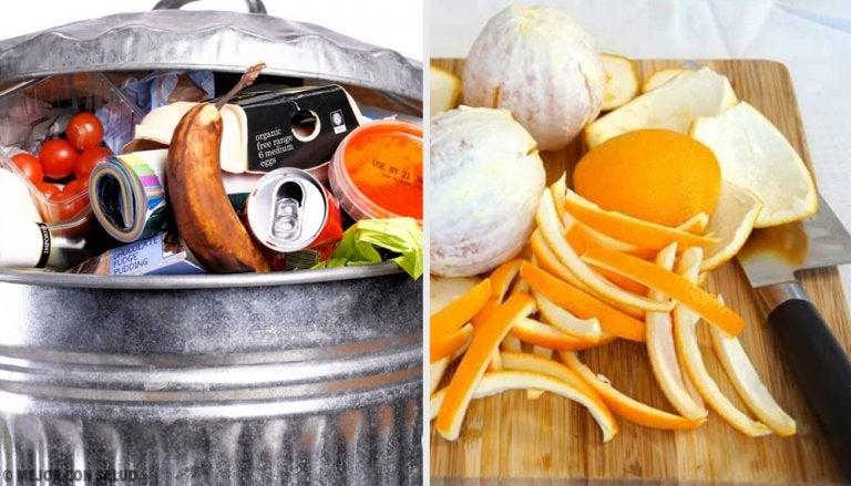 7 ideas para reusar los desperdicios de la cocina