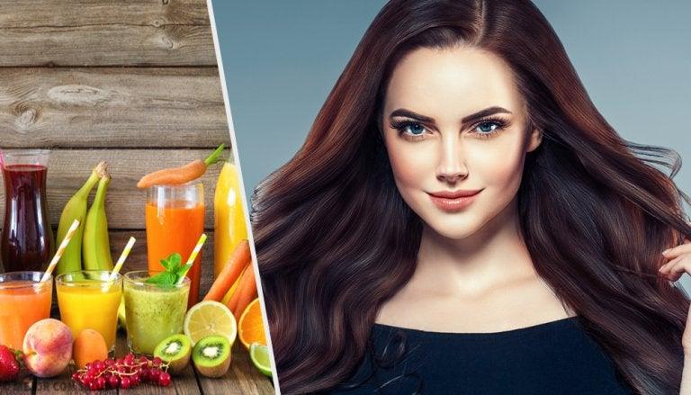 7 jugos deliciosos para fomentar el crecimiento del cabello