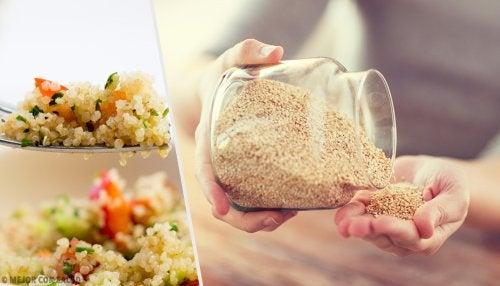 la-quinoa-en-una-receta-de-ensalada-de-nabo