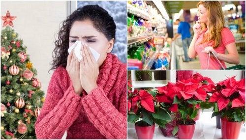 7 recomendaciones para prevenir las alergias navideñas