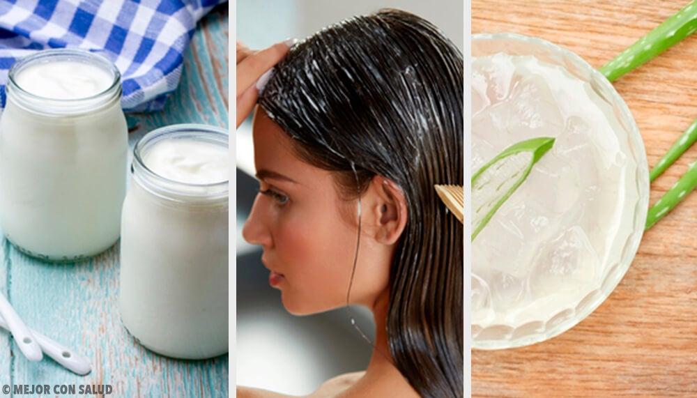 7 remedios naturales contra distintos problemas del cabello