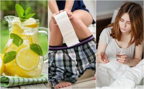 ¿Cómo actuar ante un caso de diarrea?