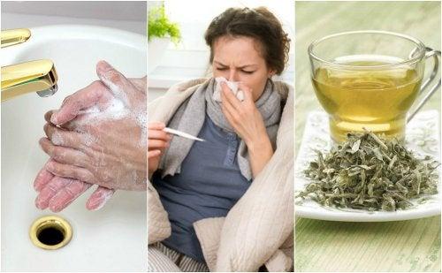Cómo cuidarte en casa cuando tienes gripe
