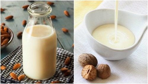 Cómo preparar bechamel con leche de almendras