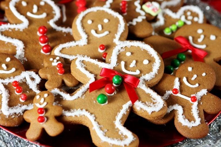 Cómo preparar galletas de jengibre navideñas sin gluten