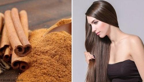 Cómo usar la canela para tener un cabello perfecto