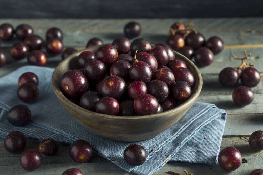 Caramelos caseros de uva