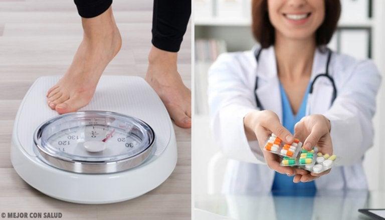 ¿Cuáles medicamentos nos pueden hacer engordar?