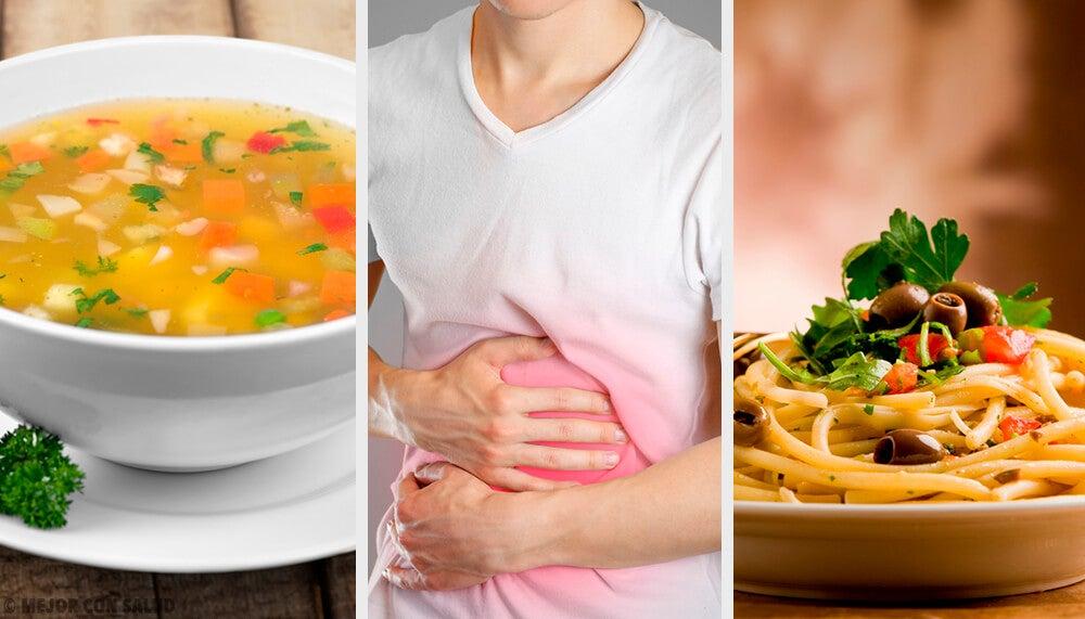 Descubre la dieta blanda para tratar la gastroenteritis