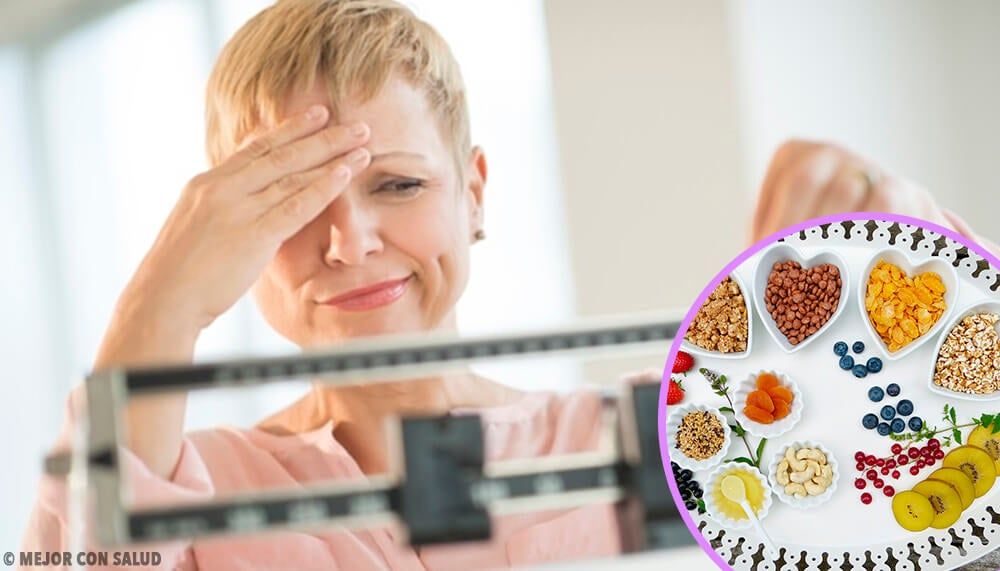 Dieta ideal para adelgazar durante la menopausia
