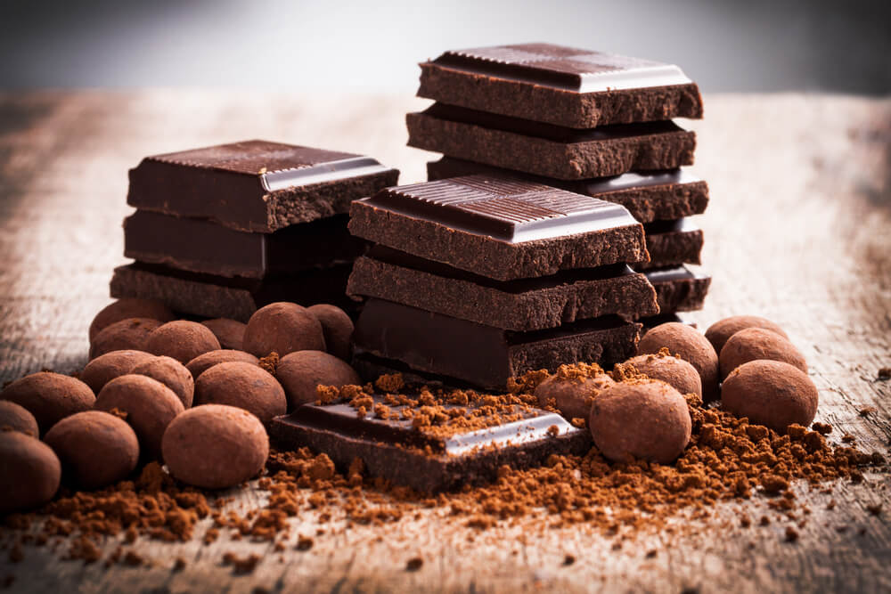 El chocolate negro
