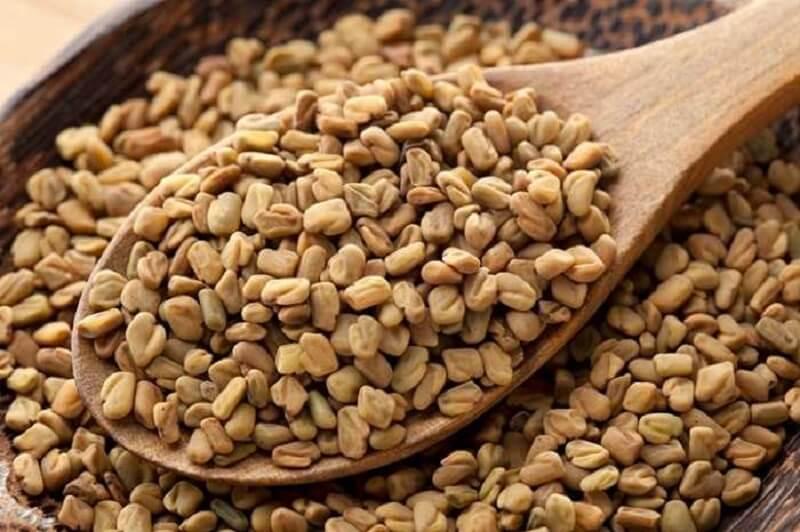 Infusión de semillas de alholva