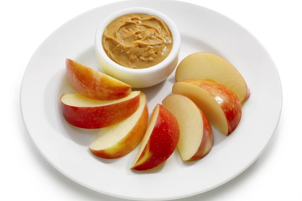 Manzana-en-crema-de-mantequilla