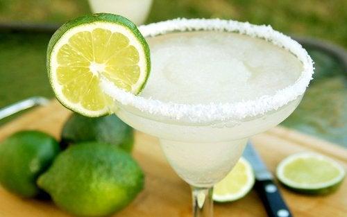 margarita sin alcohol, cócteles sin licos