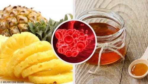Plantas y alimentos que evitan la coagulación sanguínea
