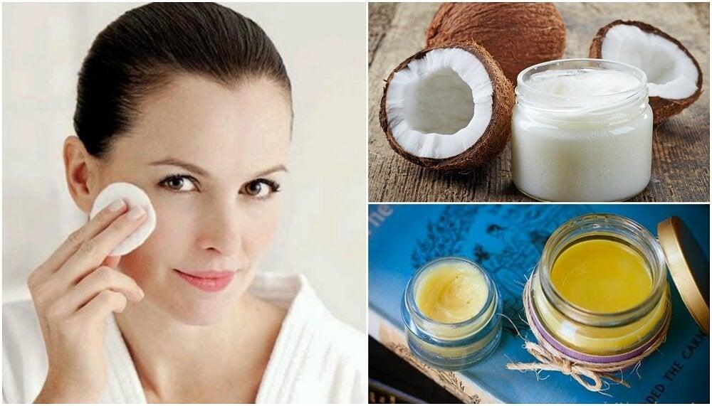 Prepara tu propia crema desmaquillante con estas 3 recetas caseras