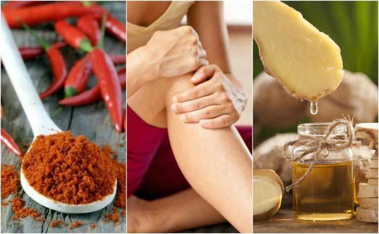 Loción antiinflamatoria para músculos y articulaciones