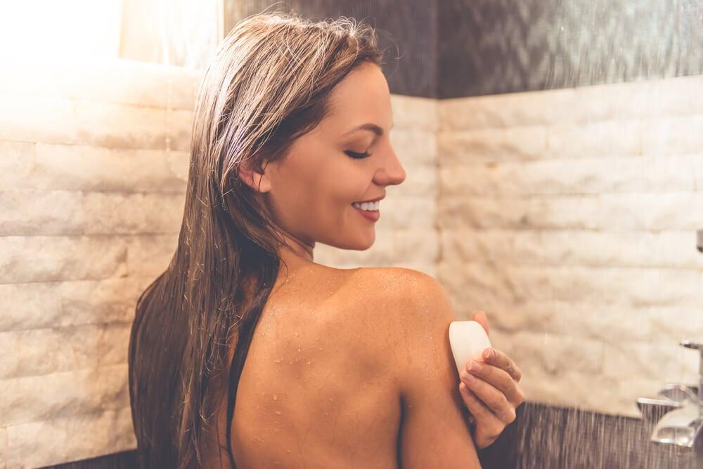 Proceso de limpieza y uso del jabón