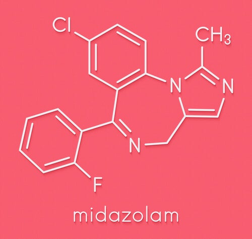 Qué características presenta el midazolam