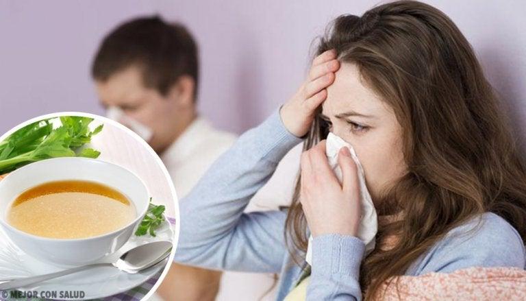 ¿Realmente funcionan las sopas para combatir la gripe?