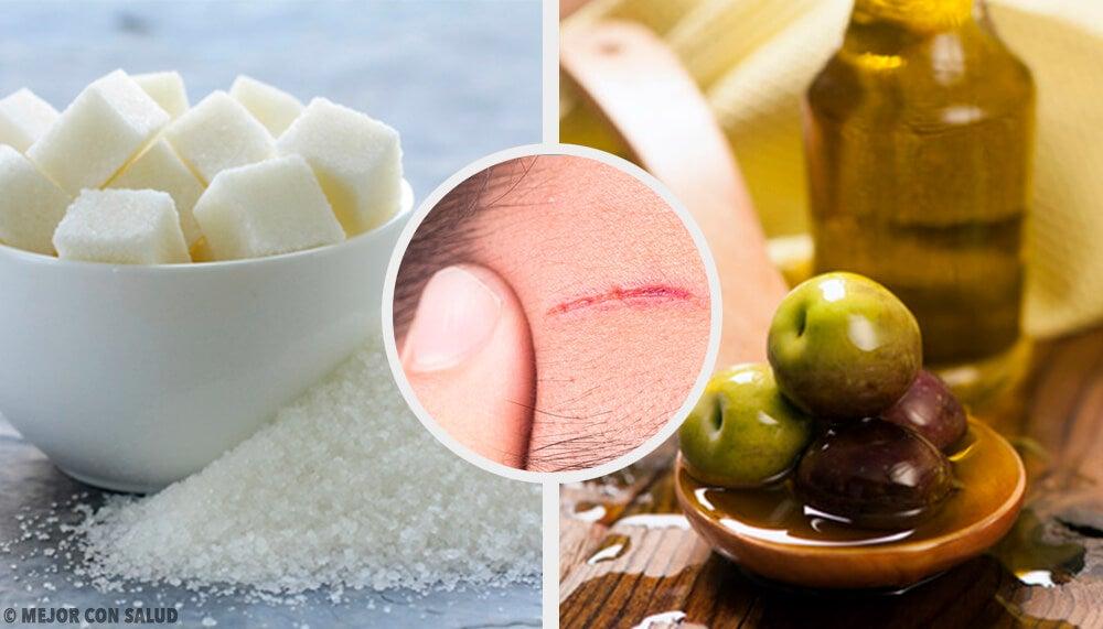 Recetas caseras para ayudar a reducir cicatrices