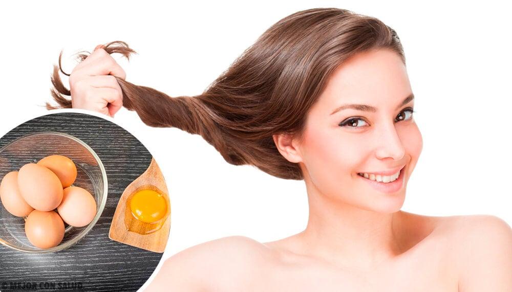 Remedios naturales con huevo para mejorar tu cabello