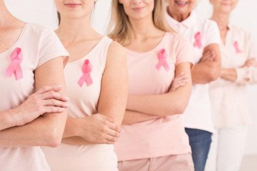 Apoyo al cáncer de mama.