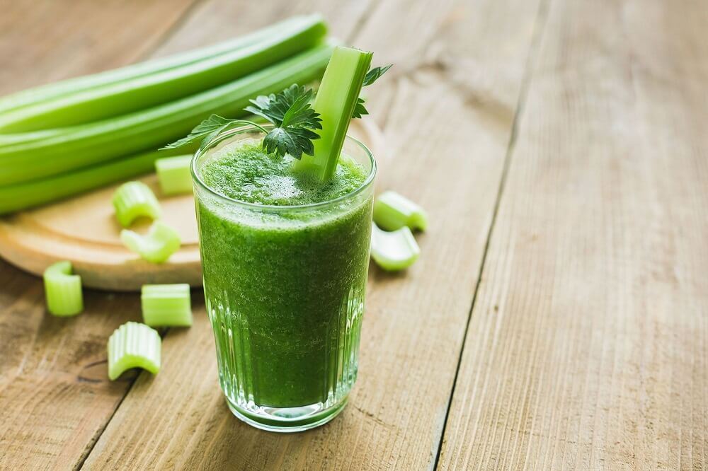 Celery is a great ally to burn fat
