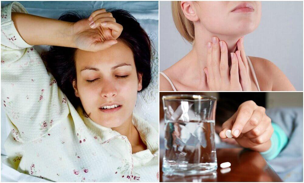 6 causas médicas de la sudoración nocturna