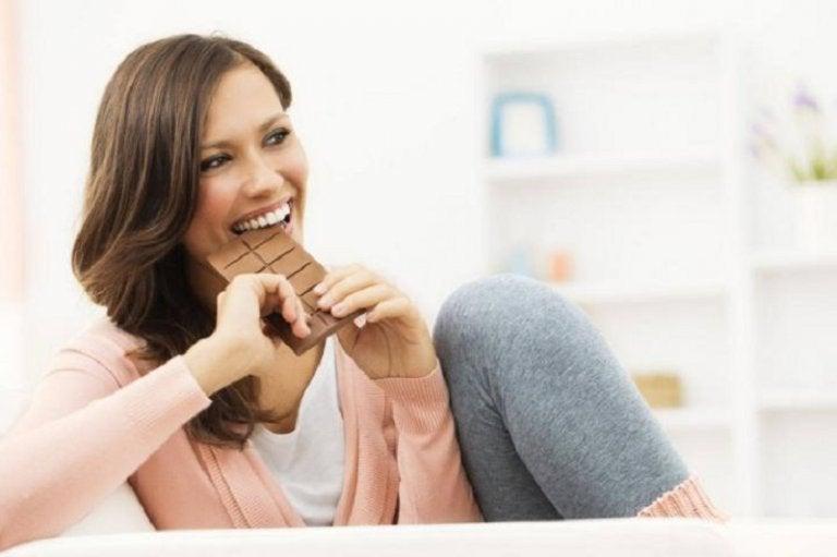 Conoce aquí los efectos positivos del consumo de chocolate