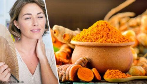 Beneficios de la cúrcuma en la menopausia y postmenopausia