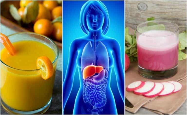 Cómo evitar el hígado graso consumiendo 5 saludables bebidas