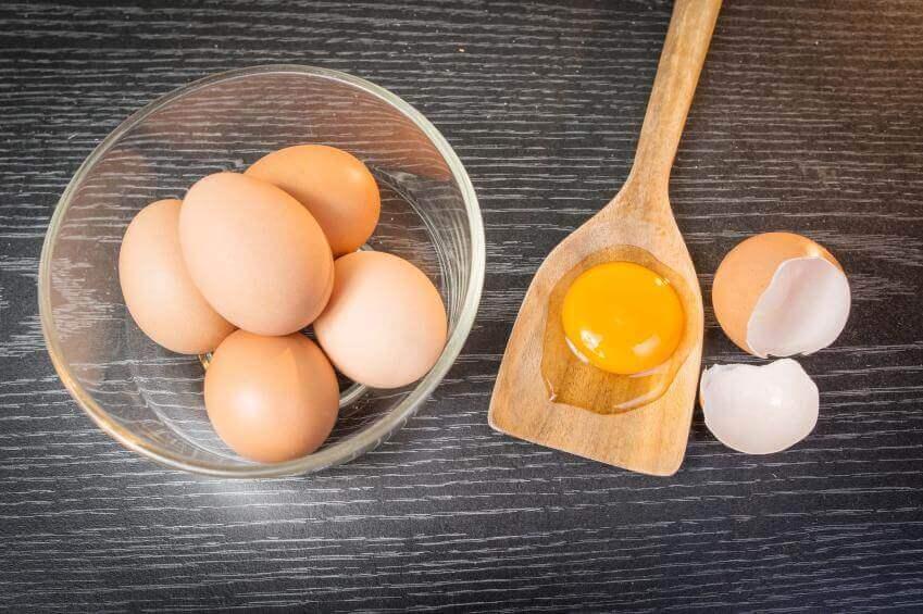 huevo tratamiento de belleza