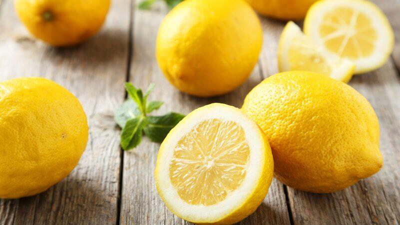 Limón, un alimento ideal en una dieta vegana