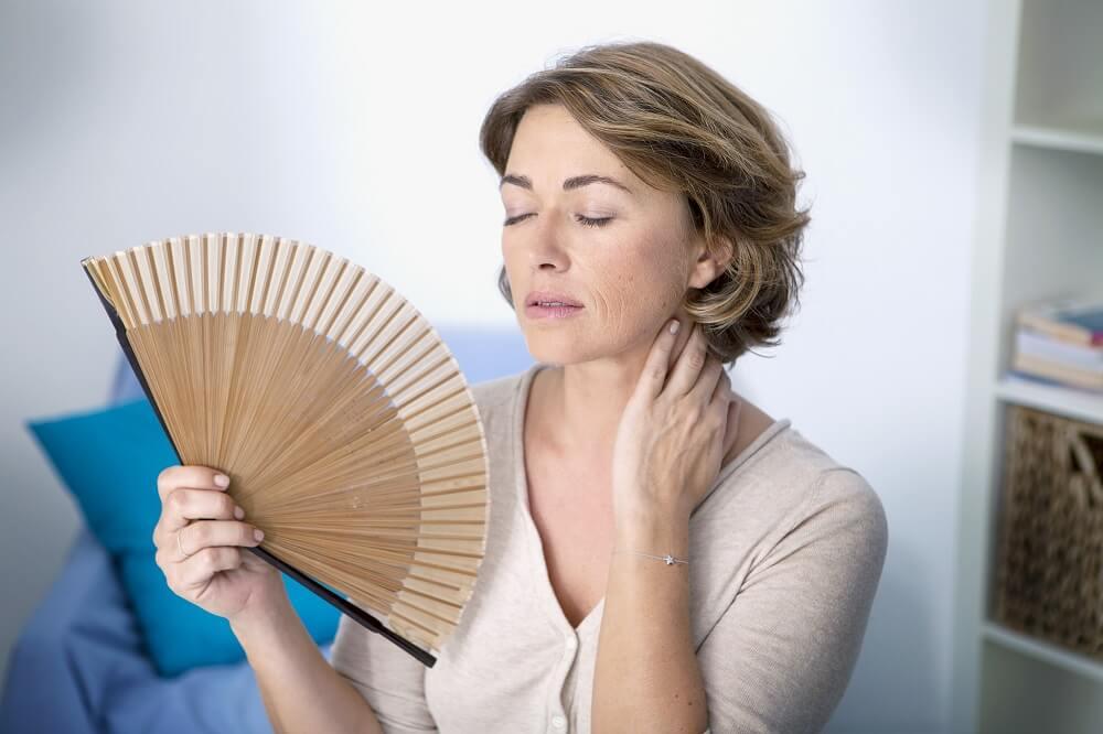 Síntomas de la menopausia.
