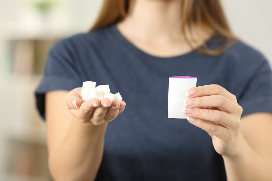 Edulcorantes artificiales, alimentos para evitar en la diarrea