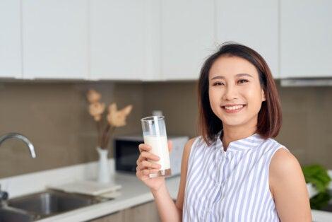 Beneficios de preparar leche de alpiste