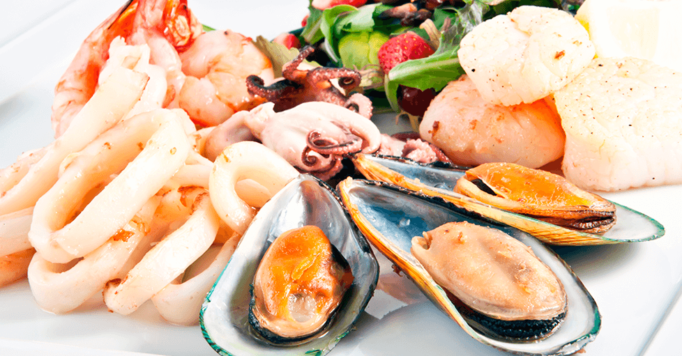 pescados-mariscos con alto contenido de cobre