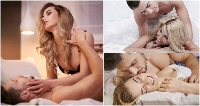 5 posturas sexuales favoritas de las mujeres