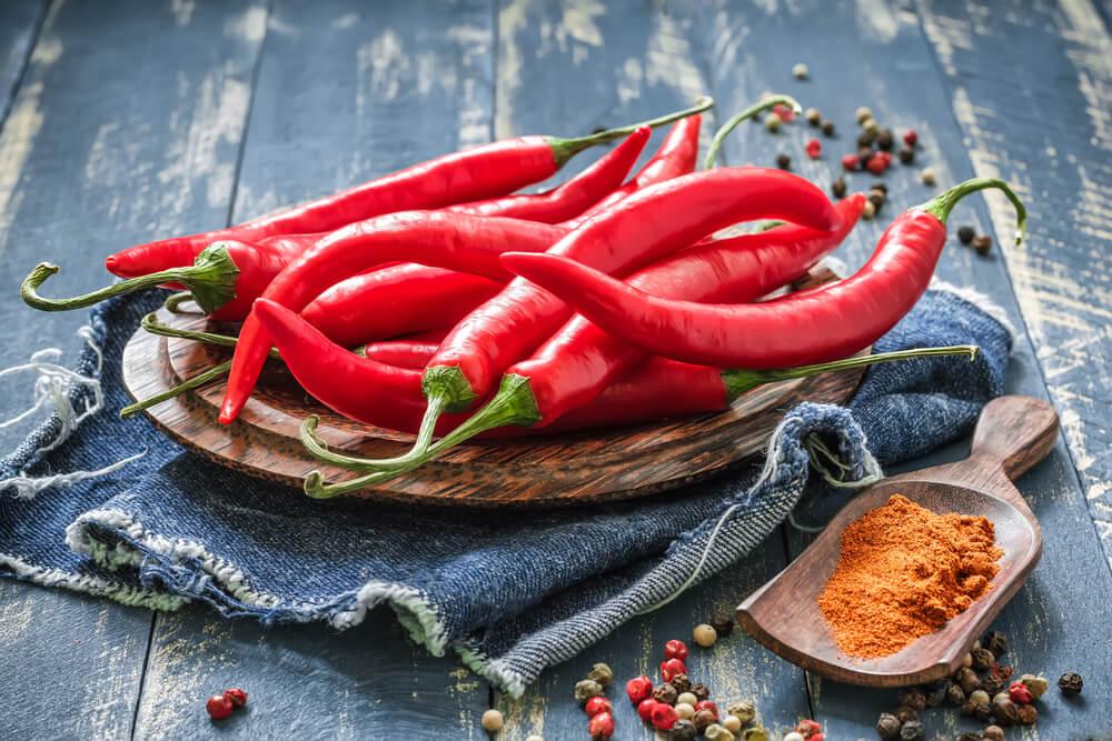 chiles para el arroz de coliflor a la mexicana
