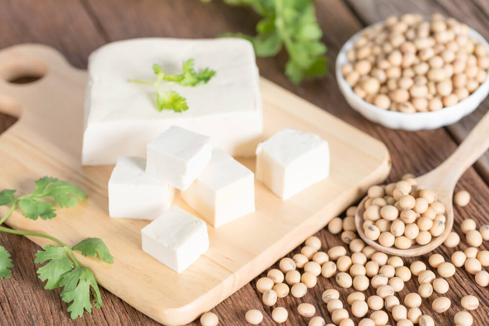 Tofu, queso de soja.
