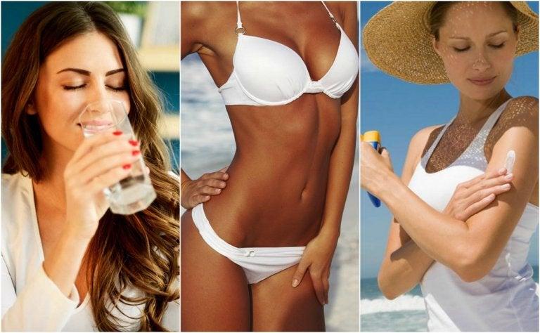 10 trucos para prolongar tu bronceado sin dañar la salud de la piel
