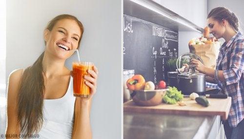 3 hábitos para desintoxicar tu cuerpo de forma constante