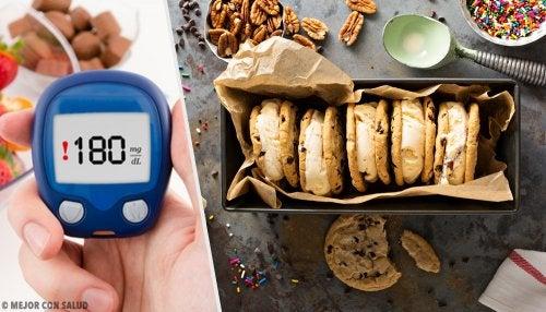 4 postres ideales para diabéticos