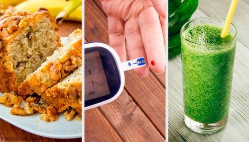 refrigerios bajos en azúcar para la diabetes