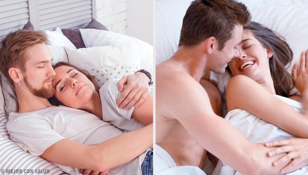5 gestos que las parejas felices tienen antes de dormir.