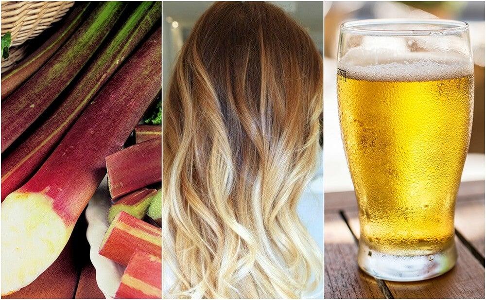 ¿Quieres aclarar tu cabello? Descubre 5 formas de hacerlo naturalmente