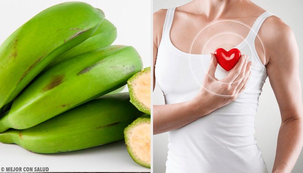 6 beneficios del plátano verde que probablemente desconocías