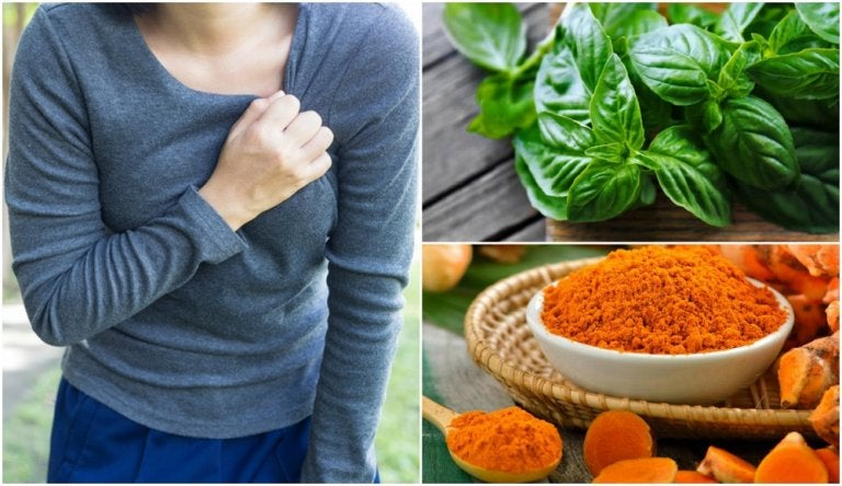 6 remedios naturales para calmar el dolor de pecho