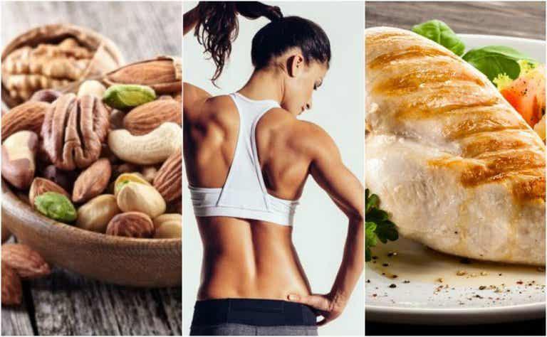 7 alimentos que te ayudan a endurecer tus músculos